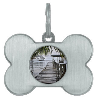 The most relaxing dock pet name tag