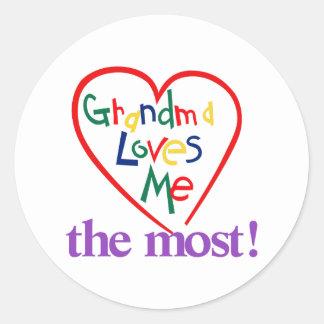 The Most! Round Sticker