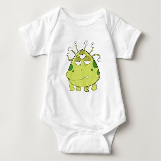 The Most Ugly Alien Ever Baby Bodysuit