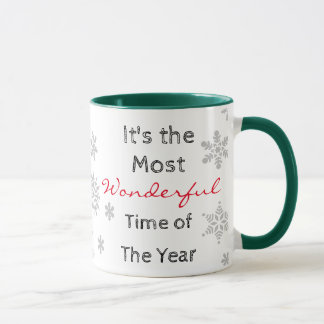 The Most Wonderful Time of the Year Coffee Mug