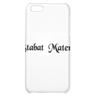 The mother was standing iPhone 5C cases