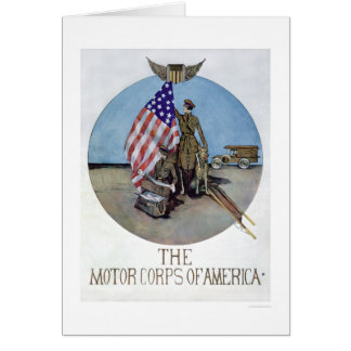 The Motor Corps of America (US02075) Greeting Card