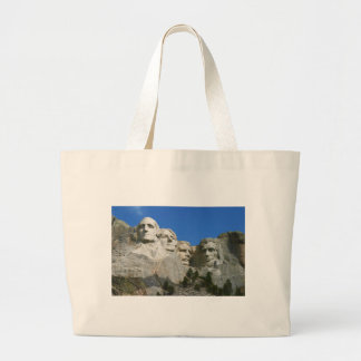 The Mount Rushmore Presidential Monument Large Tote Bag