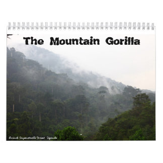 The Mountain Gorilla Wall Calendar