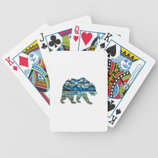 THE MOUNTAIN LAKE BICYCLE PLAYING CARDS