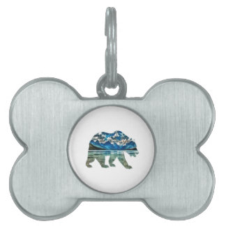 THE MOUNTAIN LAKE PET ID TAG