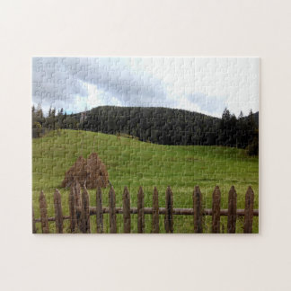 The Mountain Pasture Jigsaw Puzzle