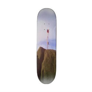 The mountain top 21.6 cm skateboard deck