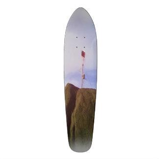 The mountain top custom skateboard