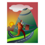 The Mountainous Journey Posters