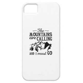 The Mountains Are Calling Barely There iPhone 5 Case