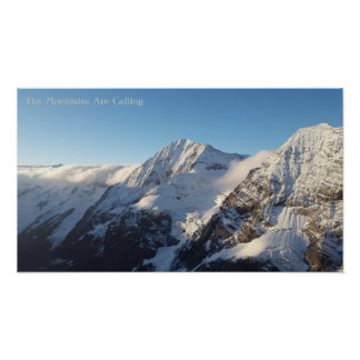 The Mountains Are Calling BY STOREMAN Poster