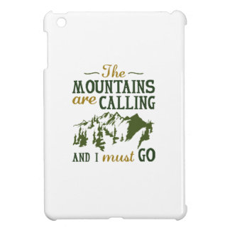 The Mountains Are Calling iPad Mini Covers