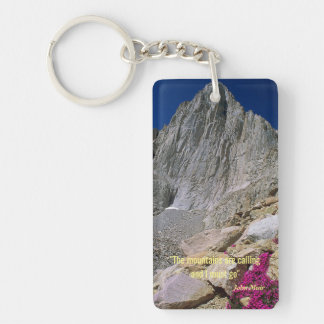 The Mountains are Calling Key Ring