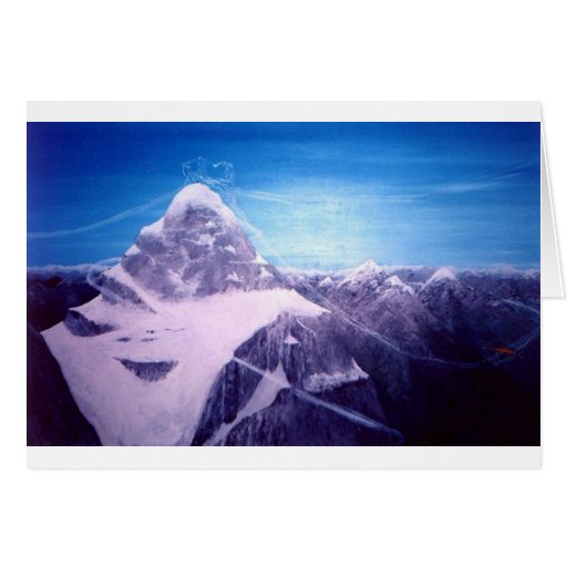 The Mountains Greeting Cards