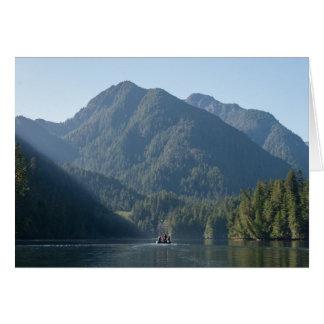 The Mountains of Haida Gwaii Greeting Card