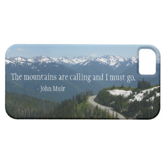 The Mountians are Calling iPhone 5 Cover