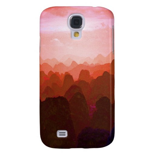 The Mountians of China Galaxy S4 Cover
