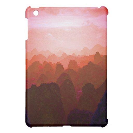The Mountians of China iPad Mini Case