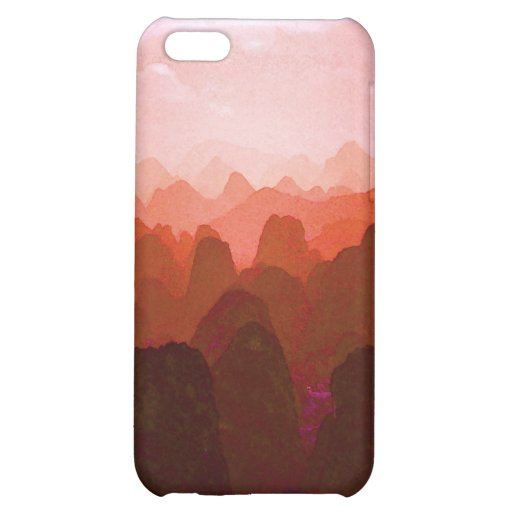 The Mountians of China iPhone 5C Covers