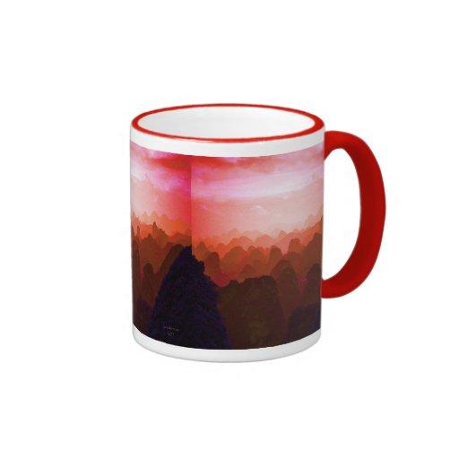 The Mountians of China Mug
