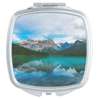 The Moutains and Blue Water Compact Mirror