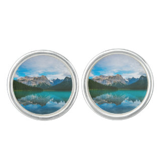 The Moutains and Blue Water Cufflinks