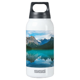 The Moutains and Blue Water Insulated Water Bottle