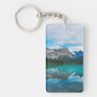 The Moutains and Blue Water Key Ring