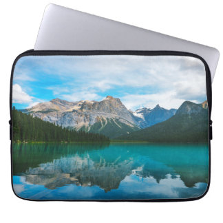 The Moutains and Blue Water Laptop Sleeve