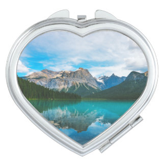 The Moutains and Blue Water Makeup Mirror
