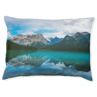 The Moutains and Blue Water Pet Bed