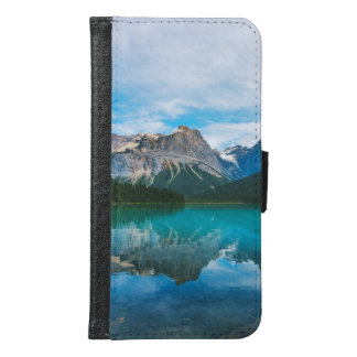 The Moutains and Blue Water Samsung Galaxy S6 Wallet Case