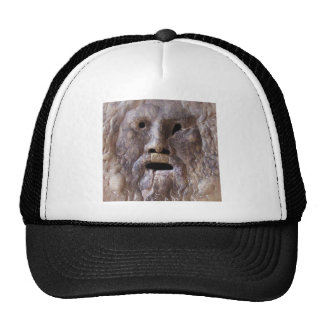 The Mouth of Truth - Rome, Italy Trucker Hats