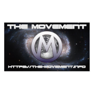 The Movement Pack Of Standard Business Cards
