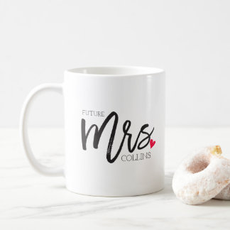 The Mrs. Shoppe | Personalized Future Mrs. Coffee Mug