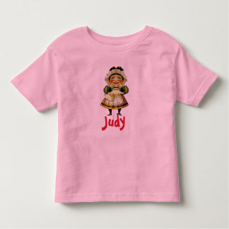 The Ms Judy Puppet, add text Toddler T-Shirt
