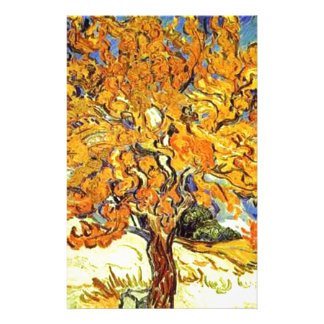 The Mulberry Tree, Vincent Van Gogh Stationery