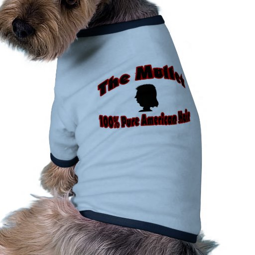The Mullet 100% Pure American Hair Pet T Shirt