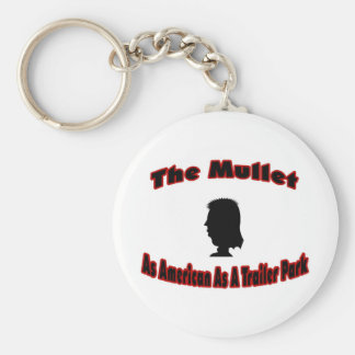 The Mullet-As American As A Trailer Park Key Chain