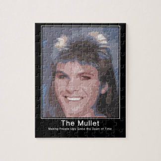 The Mullet making people ugly since the dawn of ti Jigsaw Puzzle