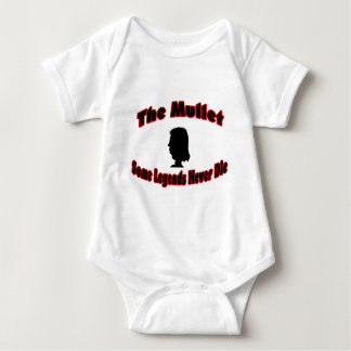 The Mullet-Some Legends Never Die Baby Bodysuit