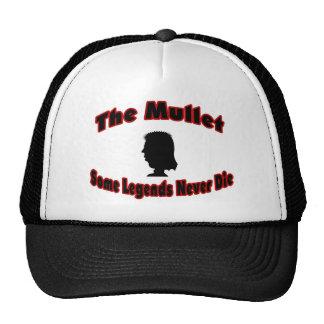 The Mullet-Some Legends Never Die Trucker Hat