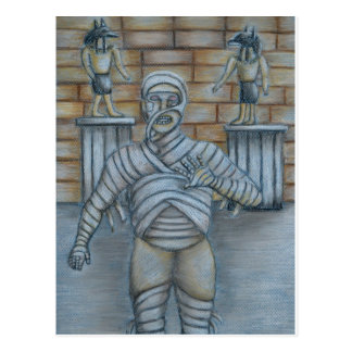 The mummy postcard