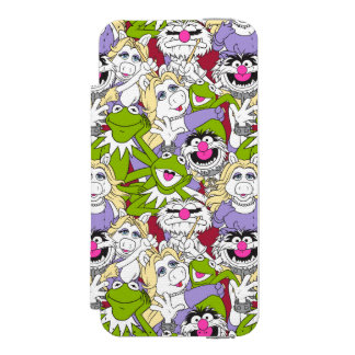 The Muppets | Oversized Pattern Incipio Watson™ iPhone 5 Wallet Case