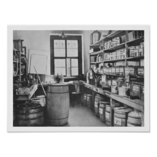 The Mural Studio Storeroom, from the Workshops of Poster