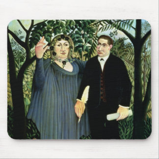 The Muse Inspiring the Poet, 1908-09 Mouse Pad