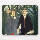 The Muse Inspiring the Poet, 1909 Mouse Pad
