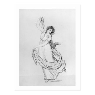 The Muse of Dance, Plate VI from 'Lady Hamilton's Postcard