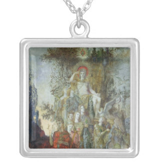 The Muses Silver Plated Necklace